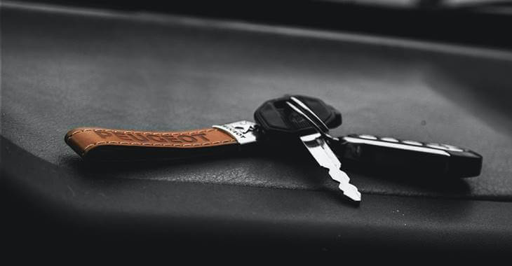 prikaz klučeva automobila Peugeot